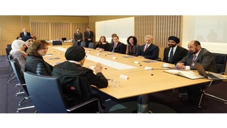 سلطان يفتتح في لندن «مختبر الشارقة» لأبحاث السرطان