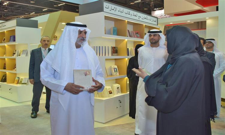"""نهيان بن مبارك : """"أبوظبي للكتاب"""" أثرى الحركة الثقافية داخليا وخارجيا"""