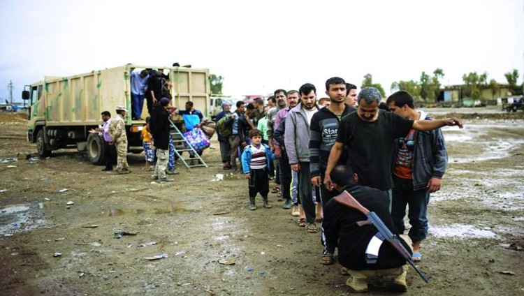 «النسر الرمادي» الأميركية تدخل معركة الموصل
