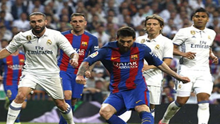 الهدف 500 لميسي يسقط ريال مدريد