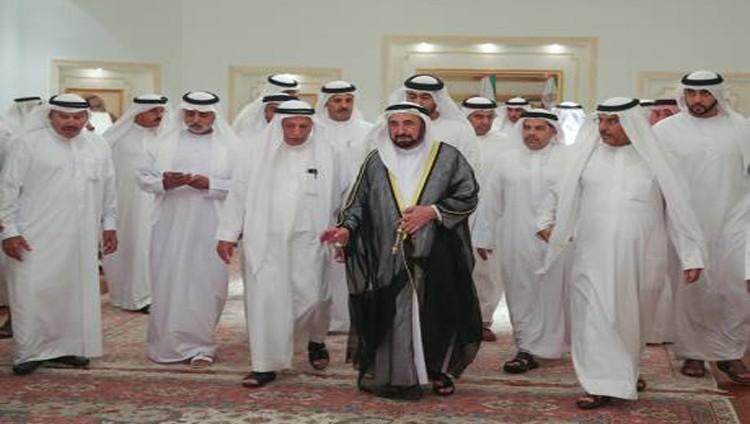 سلطان والحكام وأولياء العهود يعزون في وفاة شيخة بن كلبان
