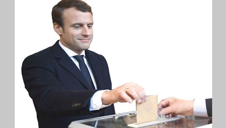 ماكرون رئيساً لفرنسا