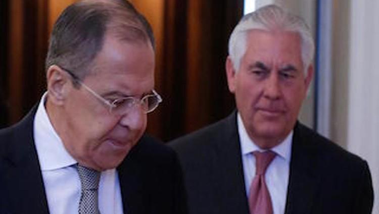 تيلرسون ولافروف بحثا هاتفيا الوضع في سوريا