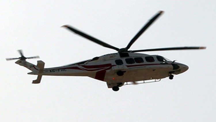 التحقيق في حادث هبوط مروحية قبالة جزيرة مباراس بأبوظبي