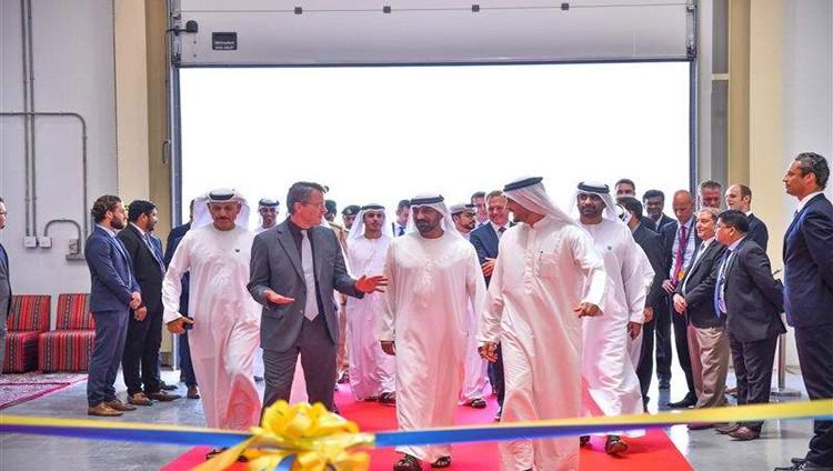 """أحمد بن سعيد يفتتح منشأة تشغيلية لـ """" لوفتهانزا تكنيك """" في """"دبي الجنوب"""""""