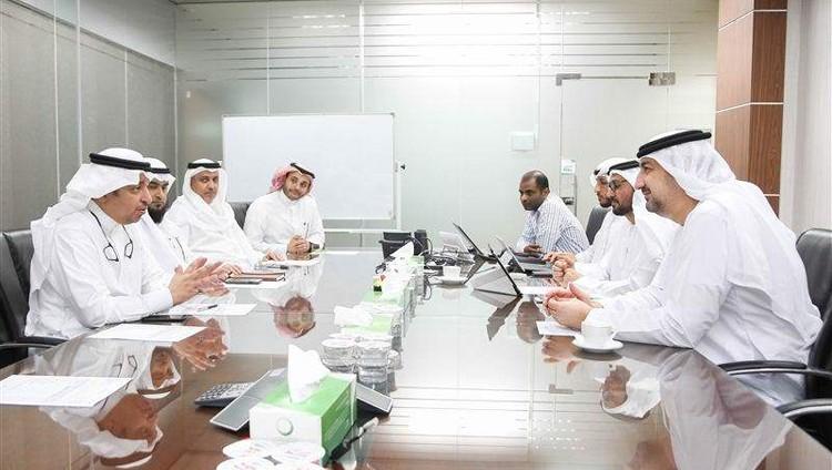 هيئة كهرباء ومياه دبي تستقبل وفداً من الشركة السعودية للكهرباء للاطلاع على أفضل الممارسات وأحدث حلول الابتكار التقني في الهيئة