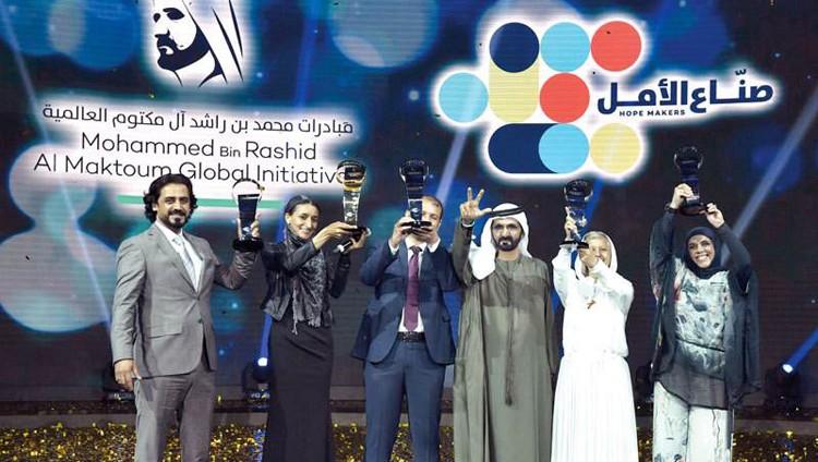 محمد بن راشد: صنّاع الأمل كلهم أوائل