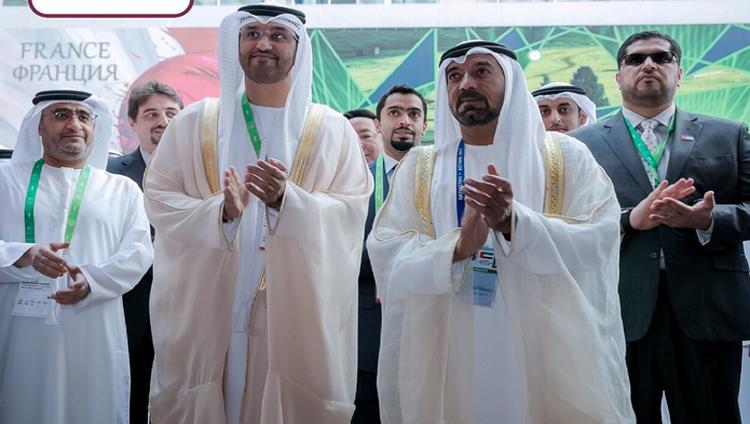 أحمد بن سعيد يفتتح جناح الإمارات في إكسبو أستانا