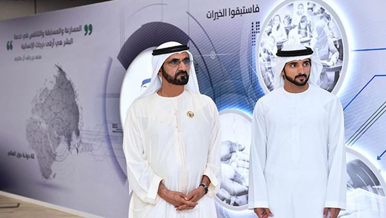 محمد بن راشد: في كل بقعة من العالم سنغرس خيراً باسم الإمارات