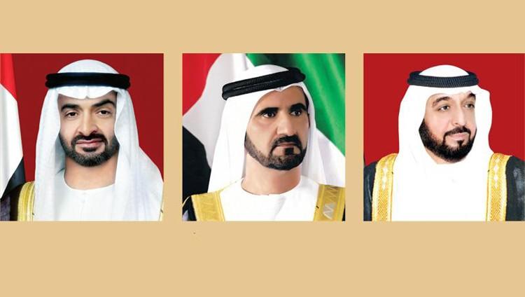 محمد بن راشد ومحمد بن زايد يستقبلان المهنئين بالعيد اليوم