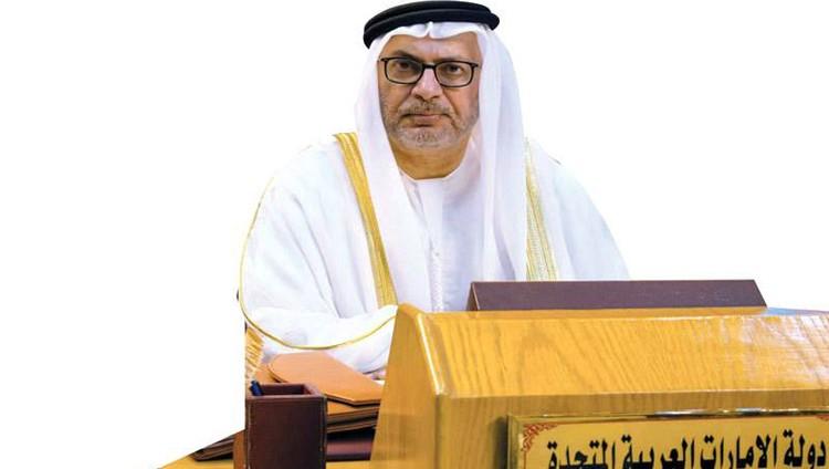 قرقاش: حل الأزمة يكمن في تغيير نهج قطر لمصلحة الاستقرار