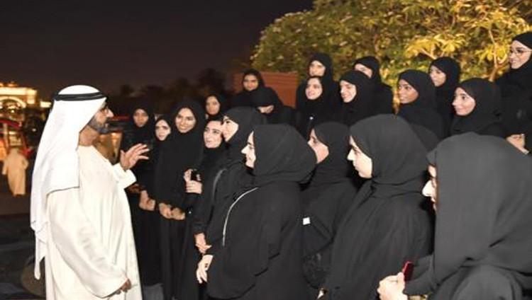 محمد بن راشد للمتفوقين: فخورون بكم وبإنجازكم