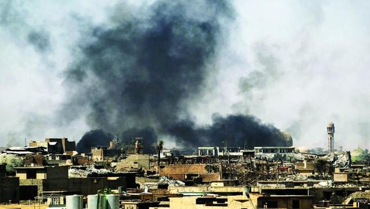 """قائد عسكري: """"داعش"""" انتهى عسكرياً في الموصل"""