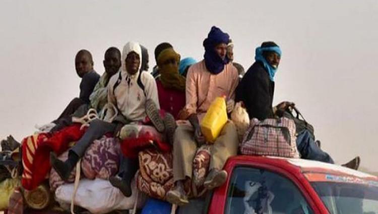 44 مهاجراً يقتلهم العطش في الطريق إلى ليبيا