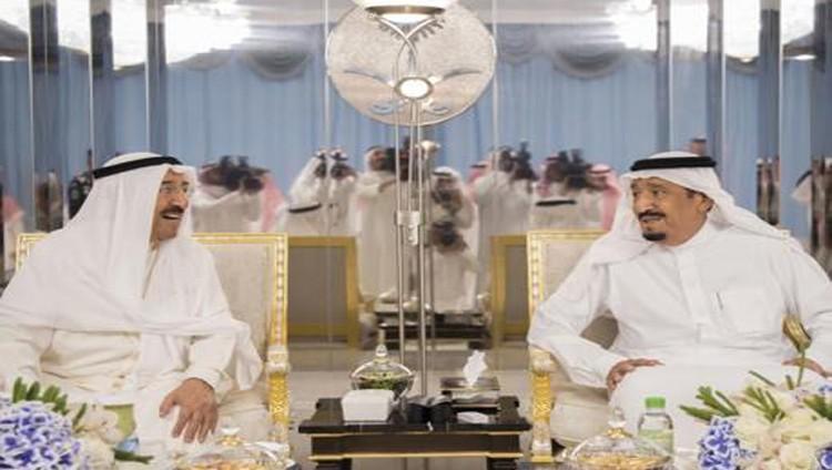خادم الحرمين يلتقي صباح الأحمد في جدة.. والجبير يؤكد: طفح الكيل من قطر