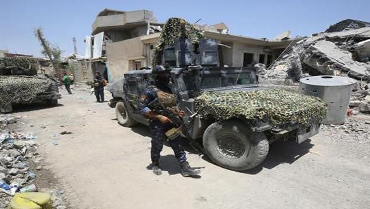 الجيش العراقي يسيطر على منفذ الوليد الحدودي مع سوريا