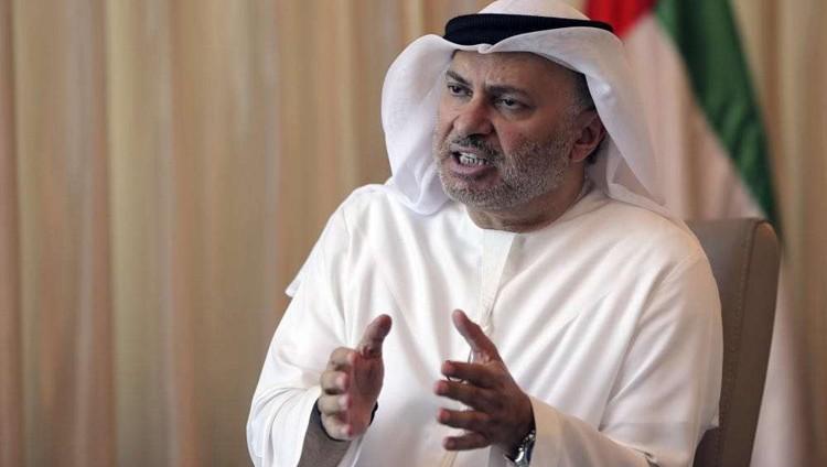قرقاش: لانية للتصعيد العسكري في حل الازمة مع قطر