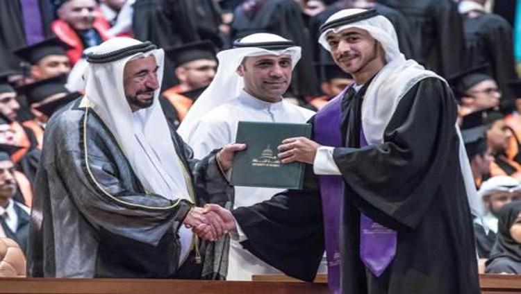 سلطان: جامعة الشارقة تؤهل أجيالاً من حملة مشاعل العلم والمعرفة