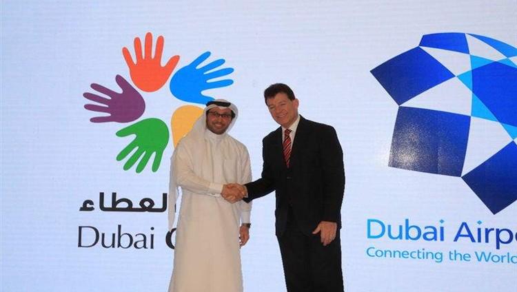 """""""مطارات دبي"""" و """" دبي العطاء"""" تتعاونان في مبادرات لجمع التبرعات والمشاركة المجتمعية"""