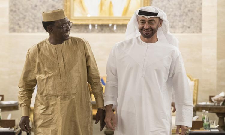 محمد بن زايد: الإمارات بقيادة خليفة تحرص على تعزيز علاقاتها مع تشاد