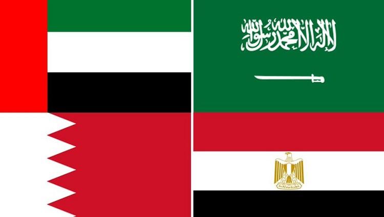 #الإمارات والسعودية والبحرين ومصر تدرج عناصر إرهابية جديدة مرتبطة بقطر ضمن قوائم الإرهاب المحظورة لديها