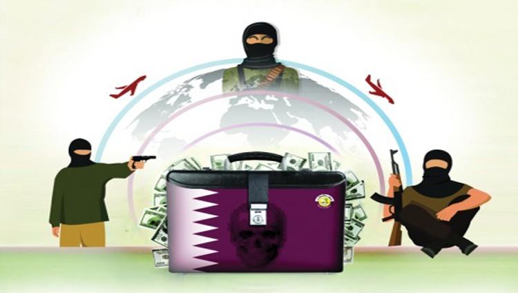 «دبلوماسية» تمويل الإرهاب.. صناعة قطرية