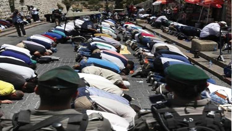 الأقصى مغلق أمام المصلين.. والغضب يعم فلسطين