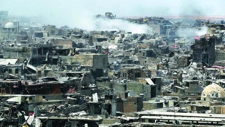 الموصل.. دمار يفوق الوصف