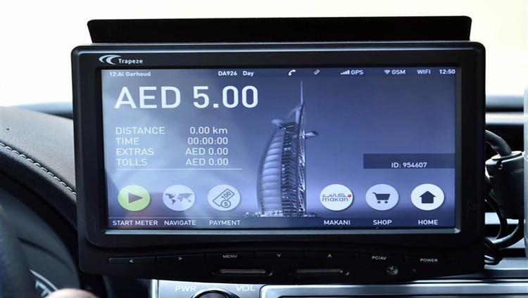 (طرق دبي) تبدأ تركيب عدادات ذكية في مركبات الأجرة بتكلفة 69 مليون درهم