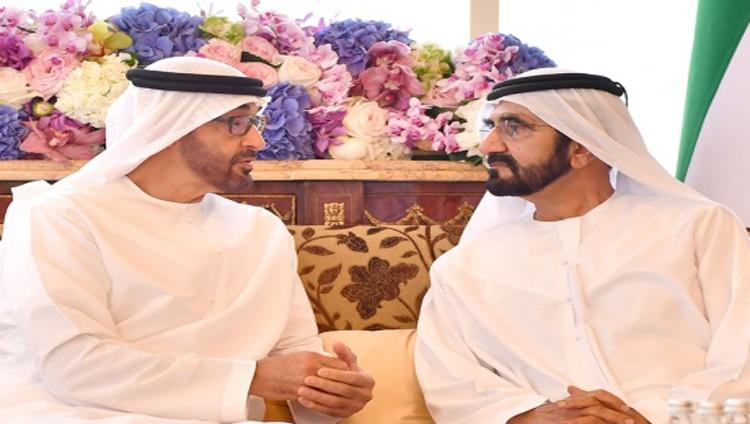 محمد بن راشد ومحمد بن زايد يبحثان تعزيز مكانة الإمارات بقيادة خليفة