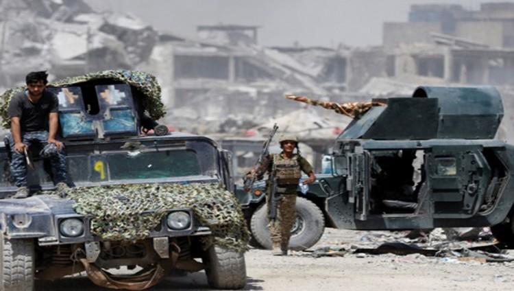20 ألف مدني عالقون في آخر جيب «داعشي» بالموصل