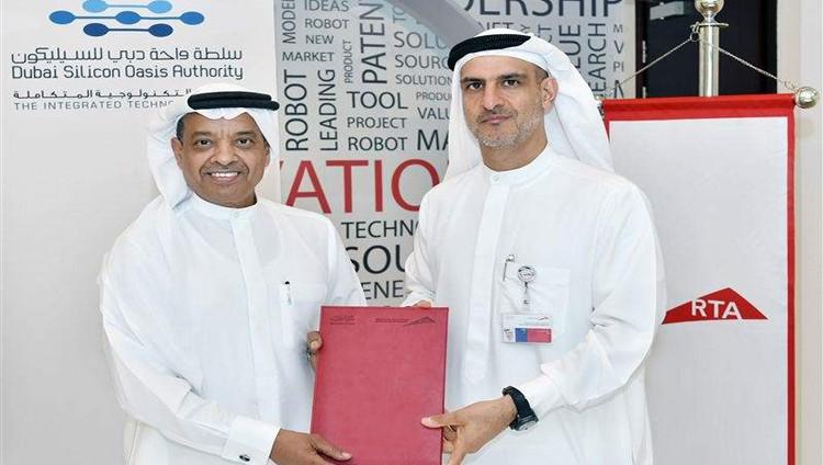 """""""طرق دبي"""" و""""واحة السيليكون"""" تتعاونان لتعزيز النقل الذكي ذاتي القيادة"""