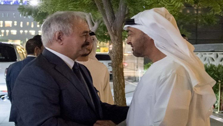 محمد بن زايد : استقرار ليبيا الموجه الأساسي لسياسة الإمارات
