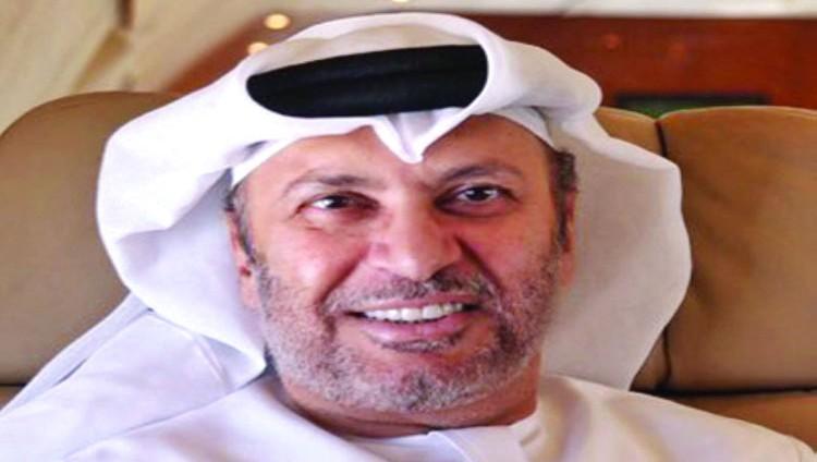 قرقاش: على قطر أن تتذكر موقف محمد بن زايد الرجولي مع تميم