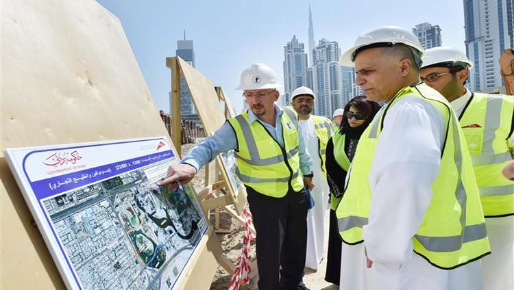 (طرق دبي) تنجز 85% من المرحلة (1) لمشروع الطرق الموازية والافتتاح نهاية العام