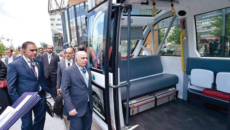 50 قطاراً جديداً لمترو دبي.. 15 منها لخدمة «إكسبو»