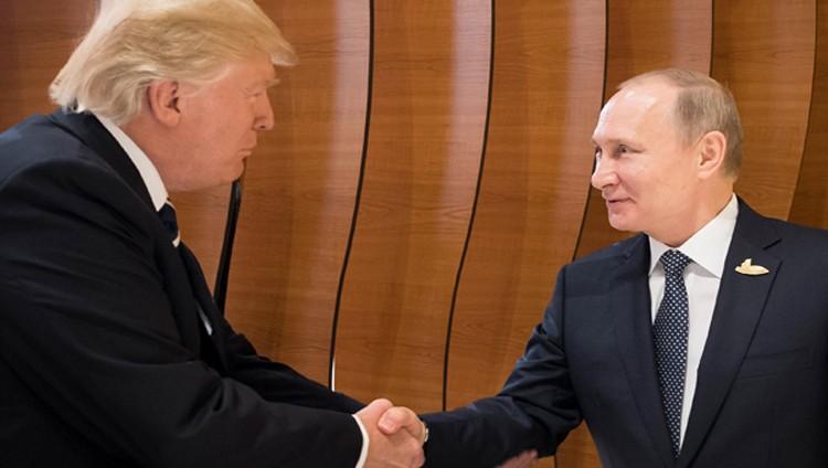 لأول مرة.. ترامب وبوتين يتصافحان خلال انطلاق قمة مجموعة العشرين
