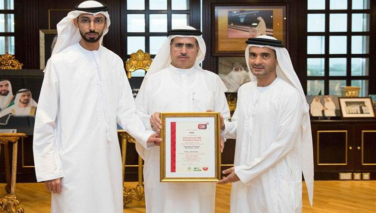 """هيئة كهرباء ومياه دبي تفوز بـ 3 جوائز من """"جوائز التميز الدولية في المسؤولية المجتمعية"""""""