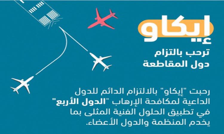 «إيكاو» ترفض تسييس قطر أزمتها مع الملاحة الجوية