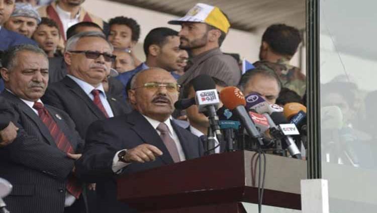 المخلوع يخذل أنصاره و«ينبطح» أمام الحوثيين