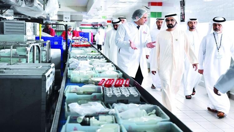 محمد بن راشد: دور محوري للقطاعات المساعدة في قطاع الطيران في دبي