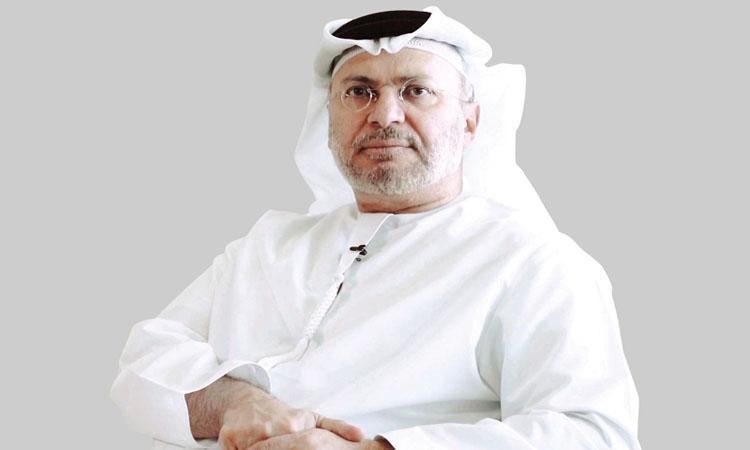 قرقاش: إعلام «الصمود والتــصدي» من الدوحة لا يستوي مع ملكــية وراثية