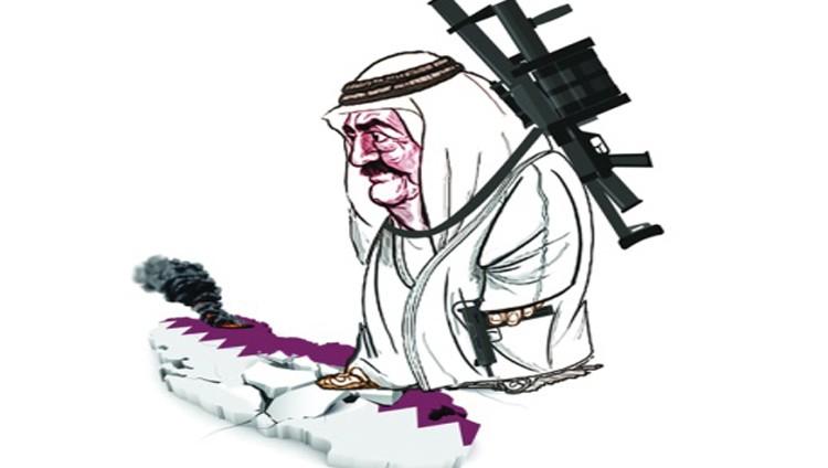 حمد بن خليفة.. أمير ينتقم من شعبه