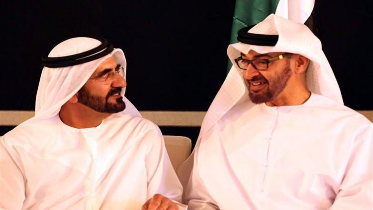 محمد بن راشد ومحمد بن زايد يبحثان عدداً من القضايا الوطنية والإقليمية