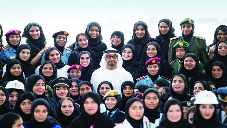 محمد بن زايد: بنات زايد حققن الرؤية في نهضة الوطن