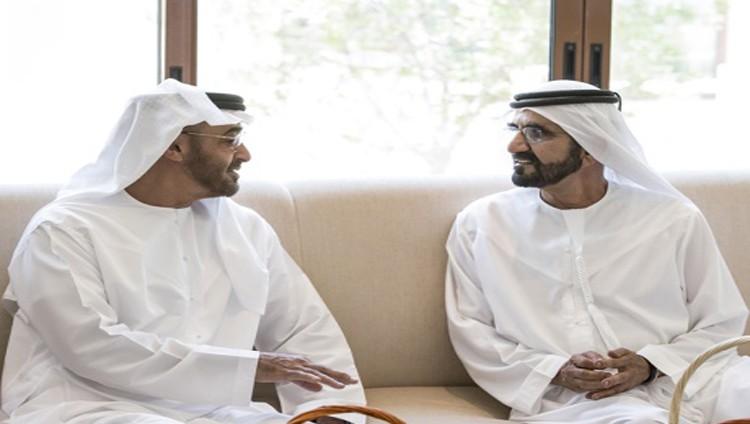 محمد بن راشد ومحمد بن زايد يؤكدان أهمية السلام في المنطقة