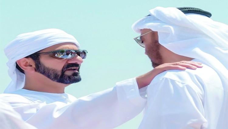 محمد بن راشد ومحمد بن زايد قلب واحد هو الإمارات