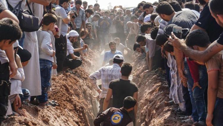 سوريا: مسلحون يقتلون سبعة من عناصر «الخوذ البيضاء»