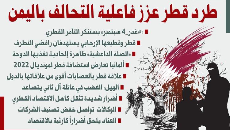 طرد قطر عزز فاعلية التحالف باليمن