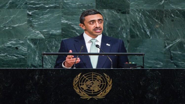 عبدالله بن زايد: نتصدى للإرهاب القطري لحماية الأمن القومي العربي